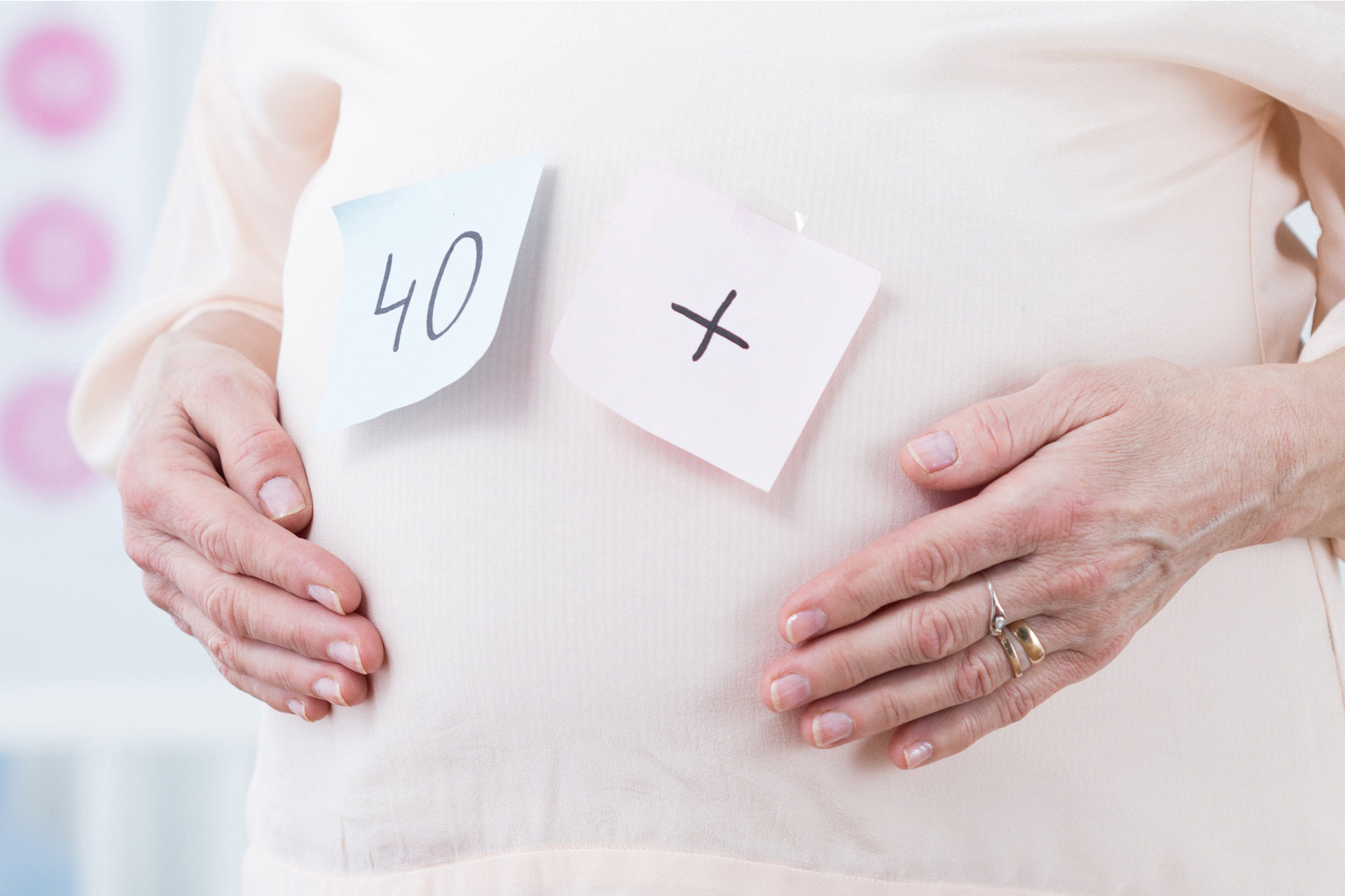 How Risky is it (for You and Your Baby) to Get Pregnant after 40?